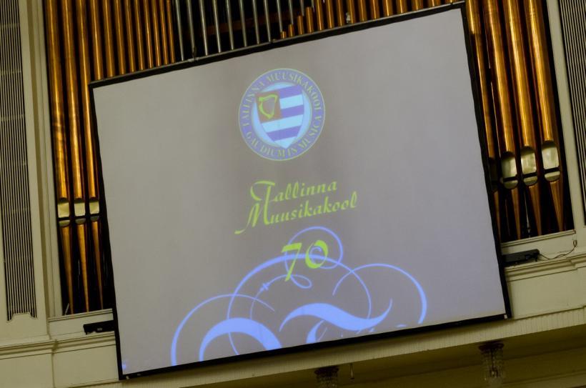 Tallinna Muusikakooli 70 aastapäeva kontsertaktus